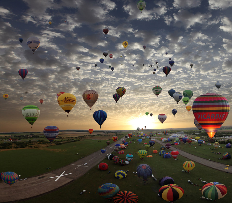 Balloon Gathering