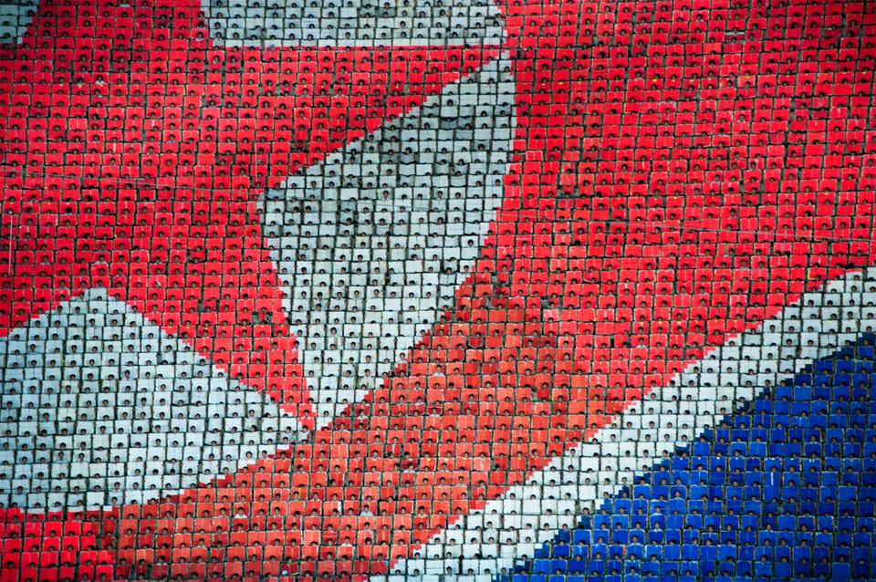 human pixels of north korea Anonymous attacks North Korea