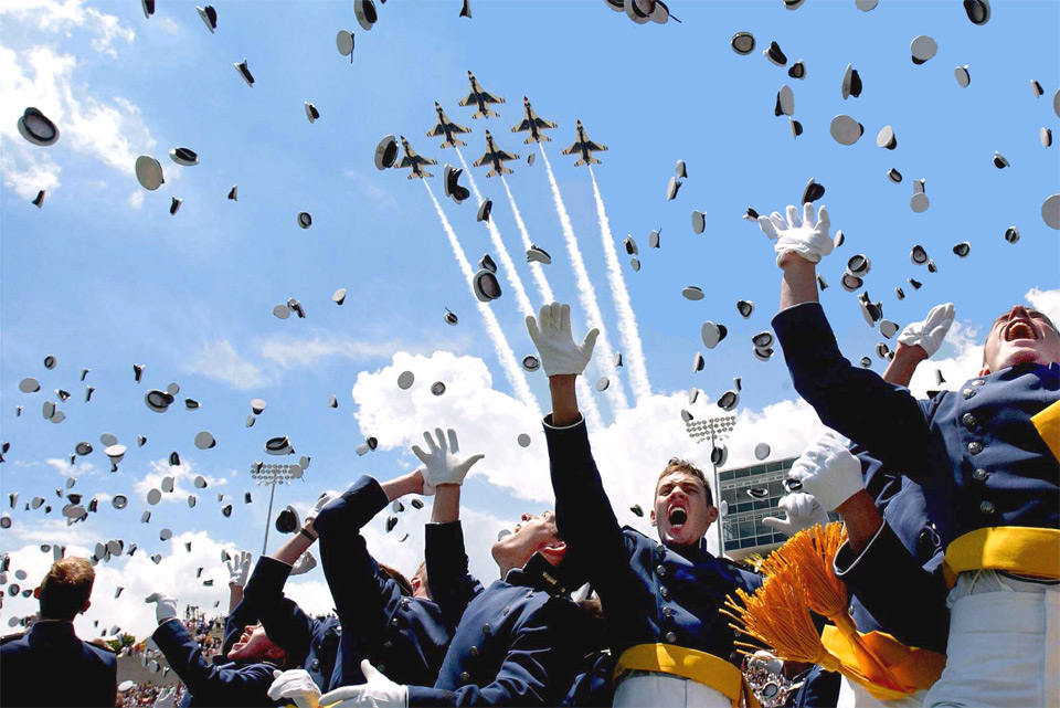 united states air force academy graduation