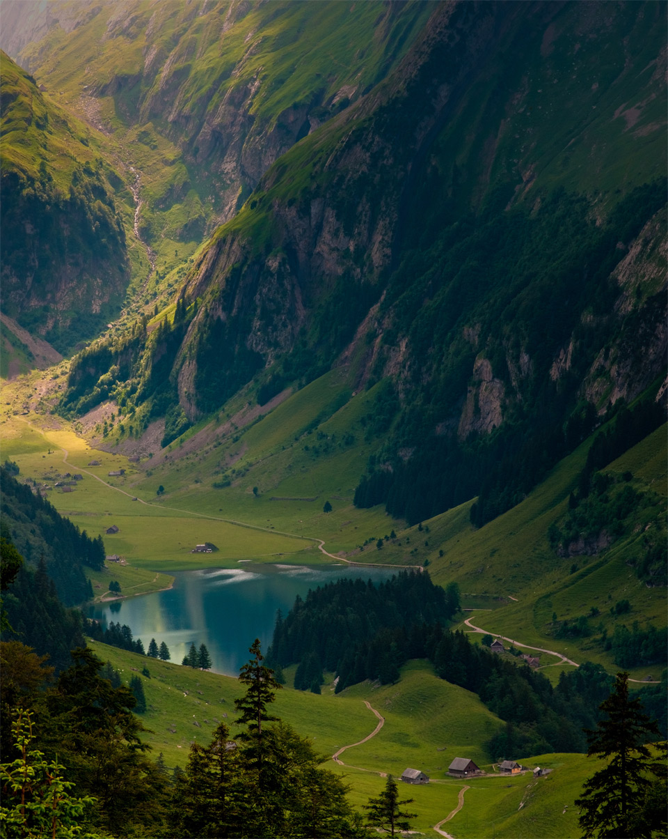 amazing appenzellerland, switzerland