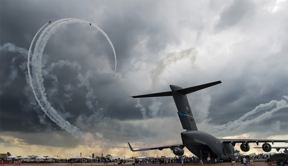 awesome air show