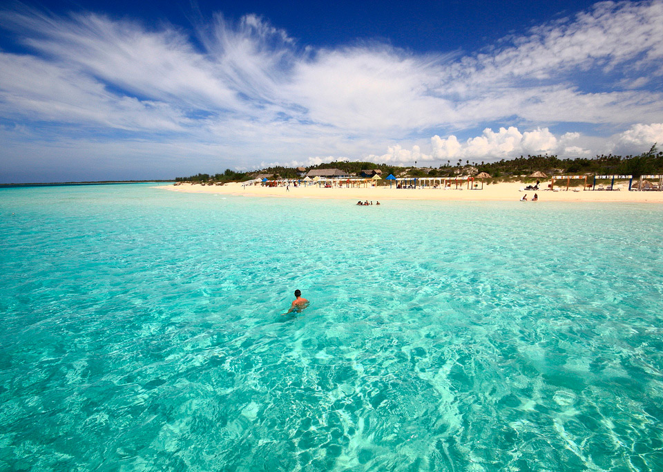 clearest water in the world, cayo coco