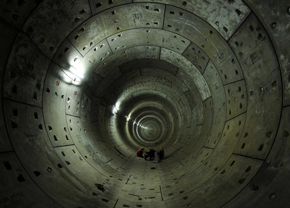 delhi metro tunnel