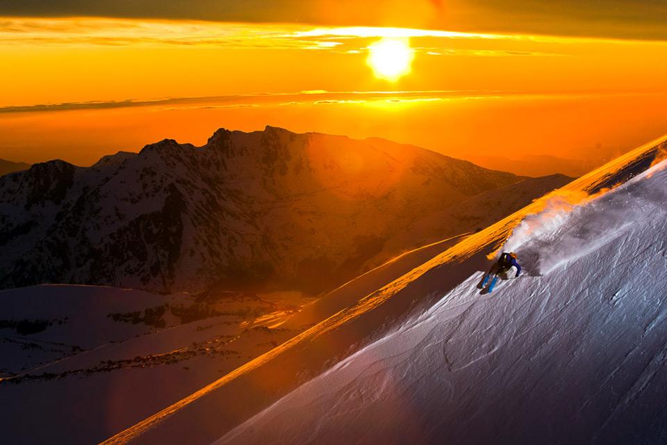 epic ski moment