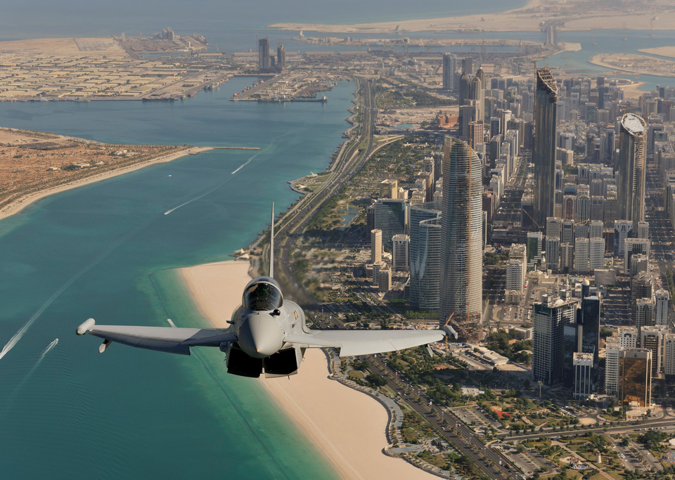 eurofighter over dubai