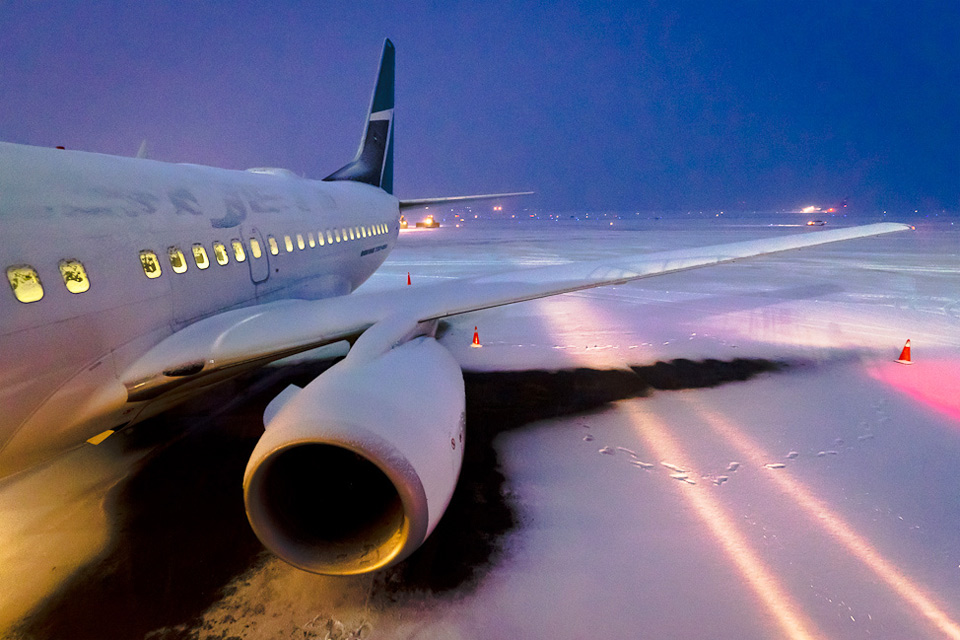 frozen vancuver airport