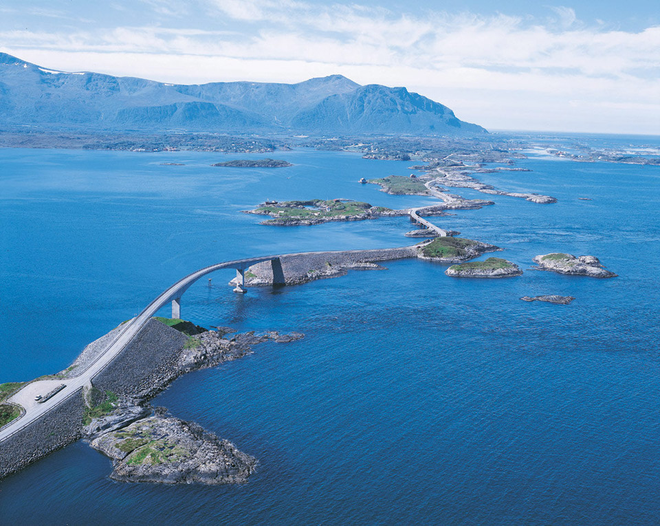 highway in norway
