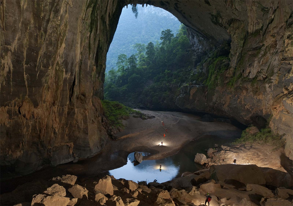 largest cave in the world, vietnam