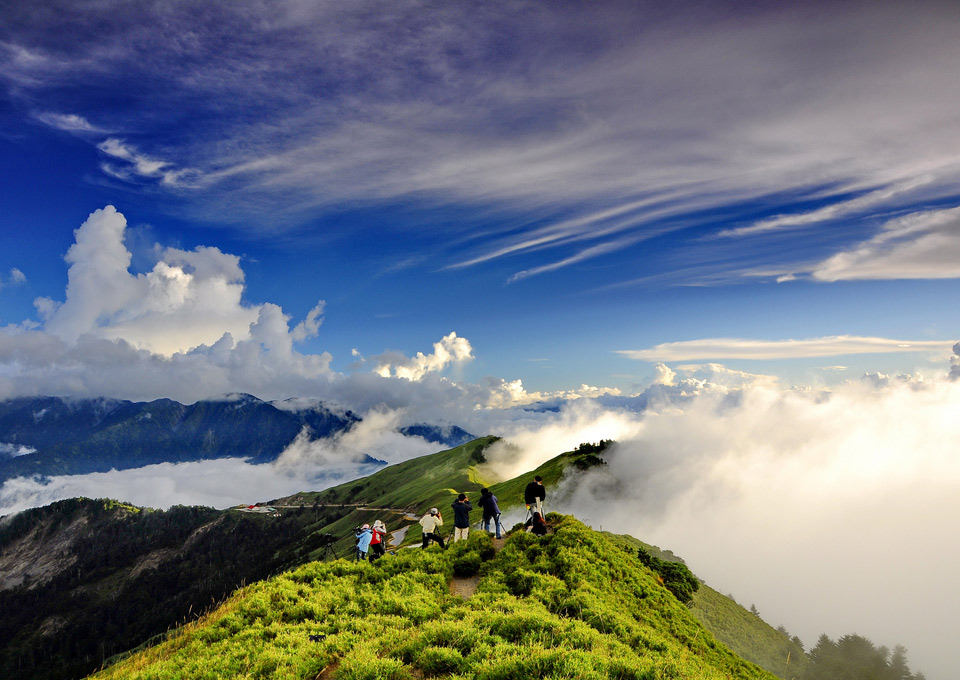 mountain hehuan, taiwan