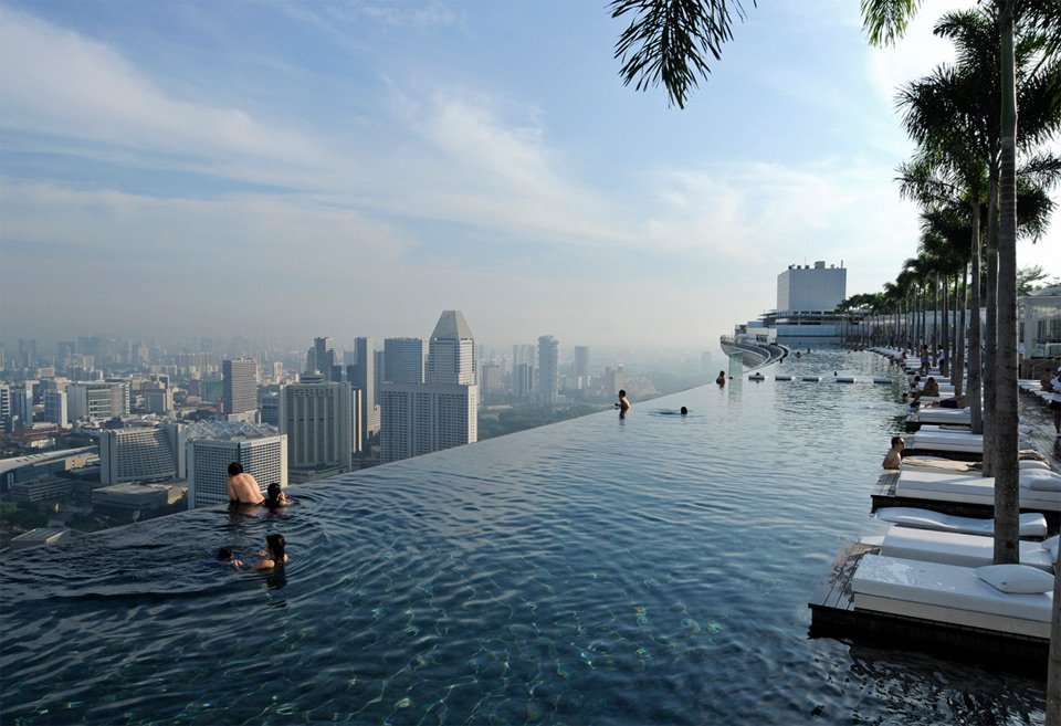 singapores sky park pool photo | one big photo