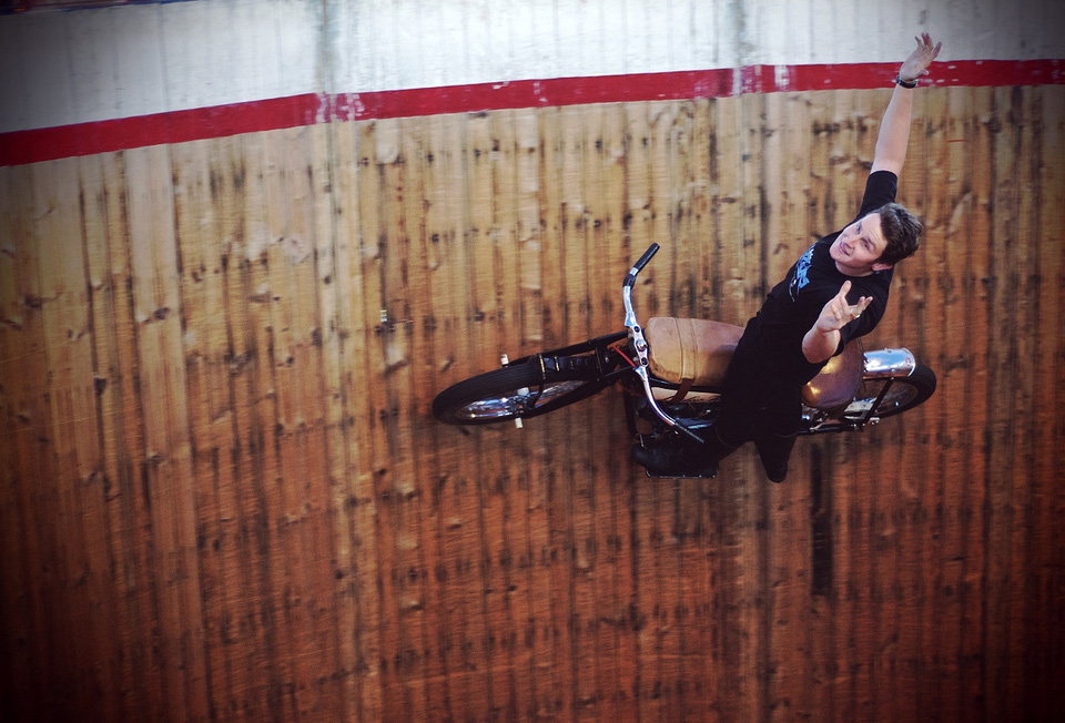 wall of death, say no to gravity