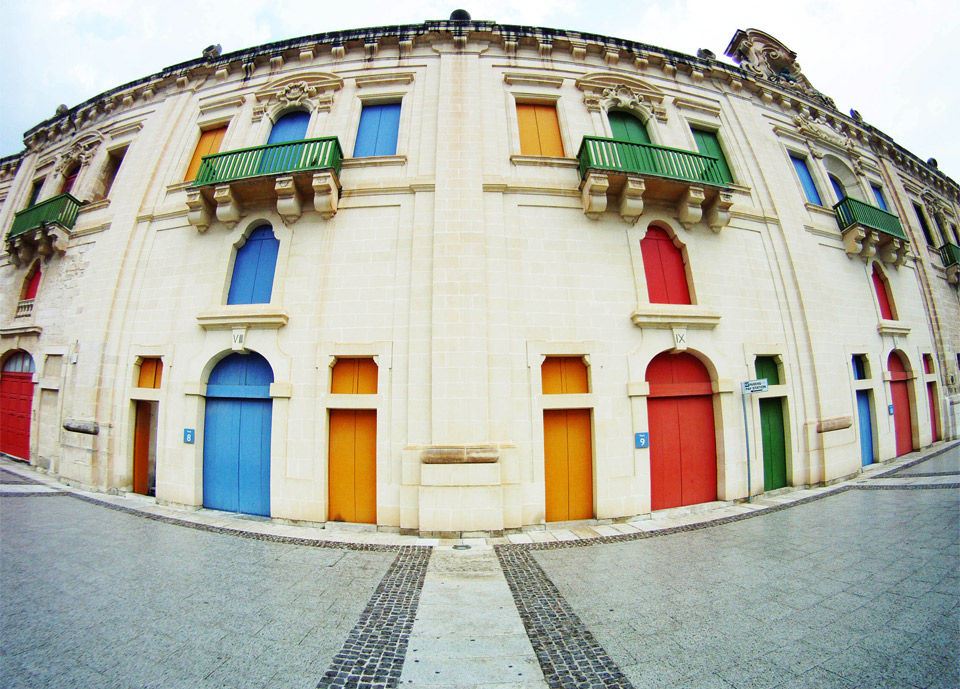 colorful doors of malta