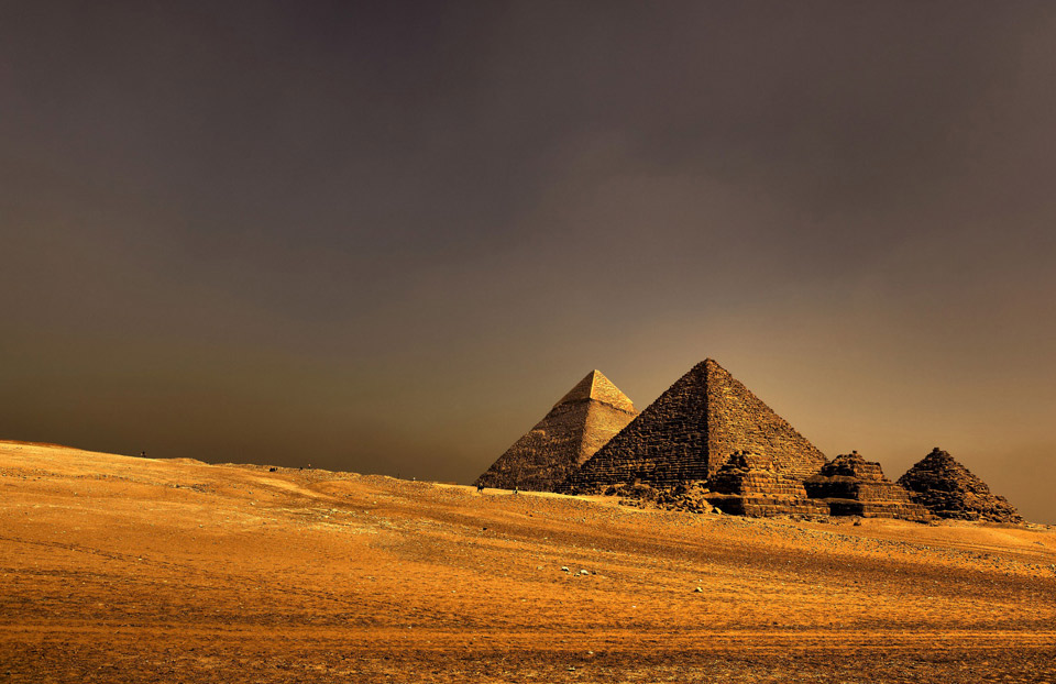 the great pyramids of ancient egypt