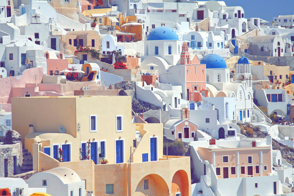 wonderful colors of greece