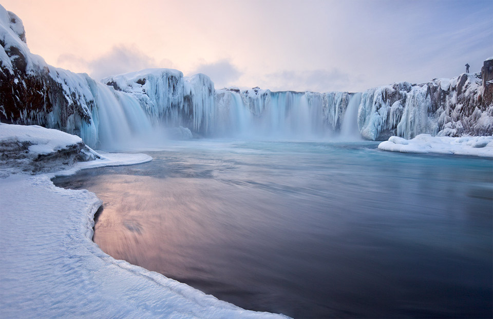 godafoss falls, iceland