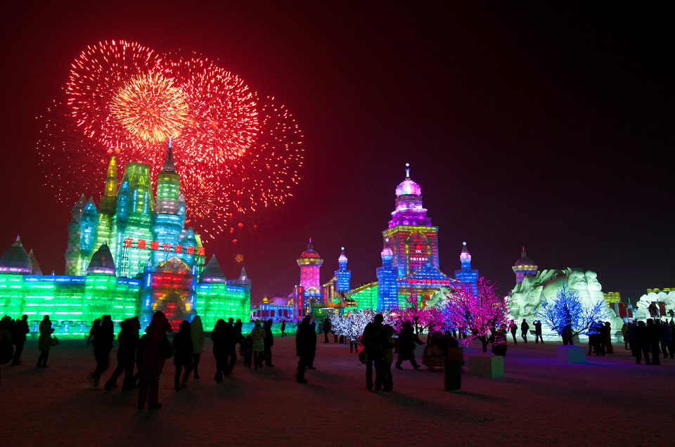 international ice and snow festival, china