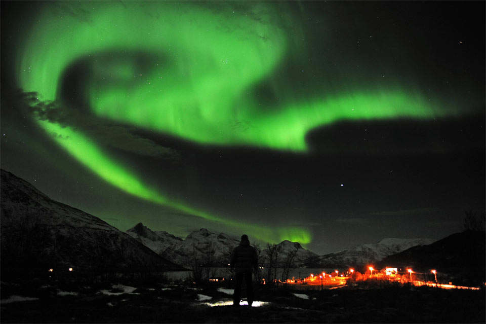 northern light, northern norway
