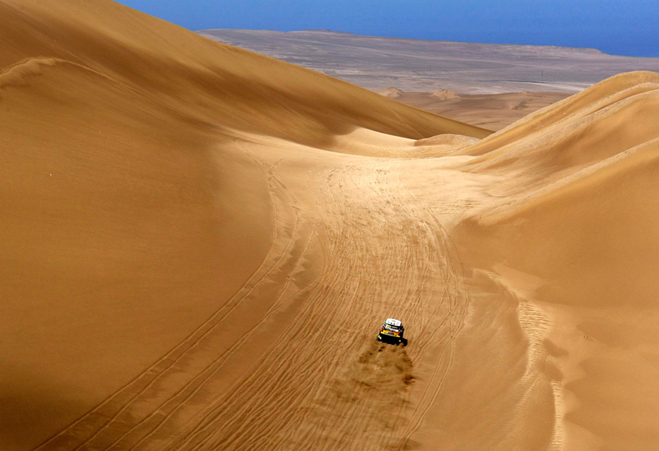 south american desert rally