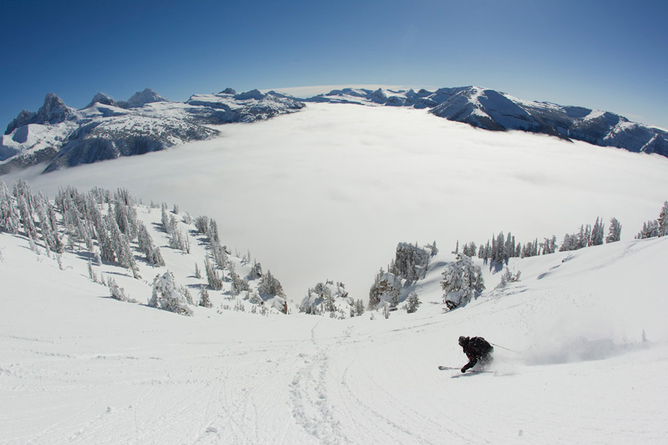 wyoming skiing of dreams