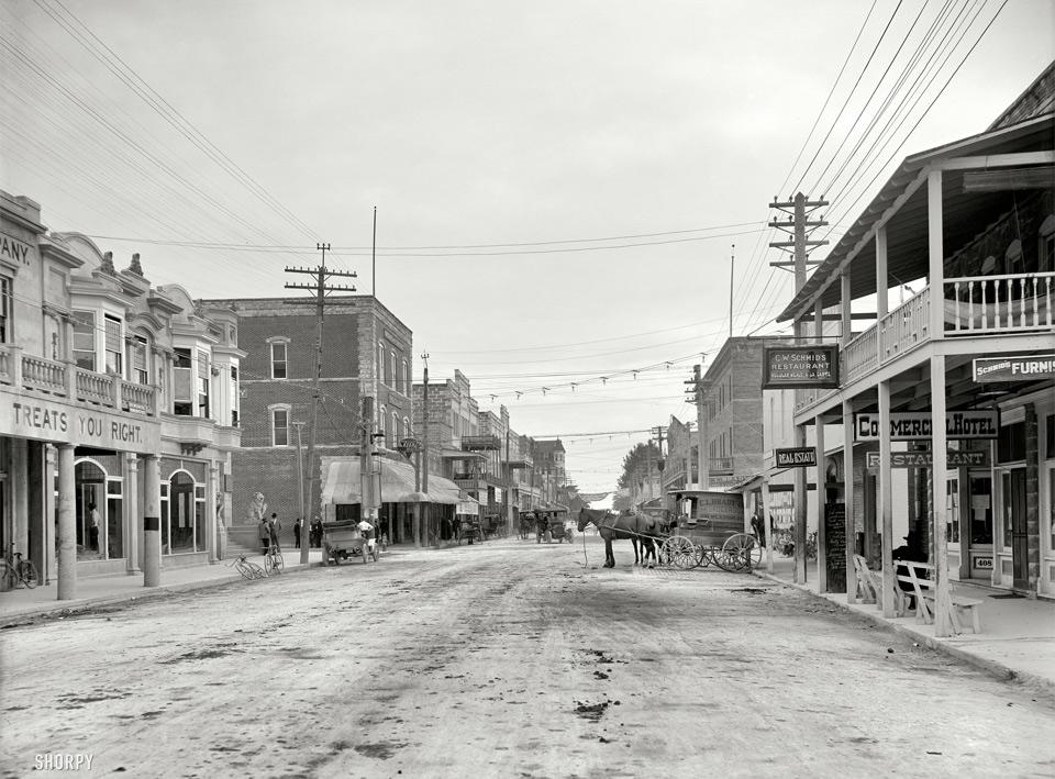 miami beach, 1908