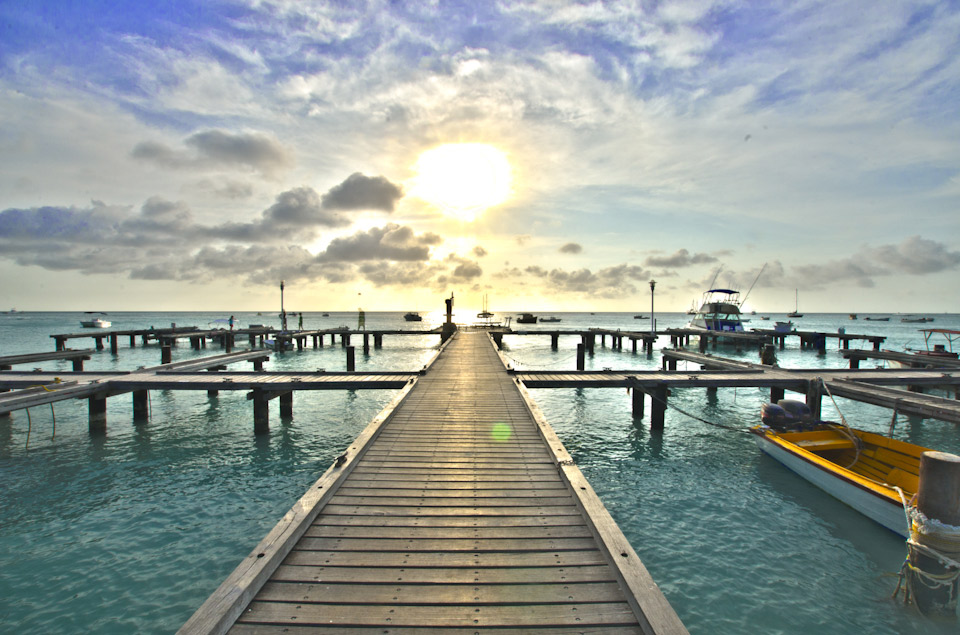 dock in aruba
