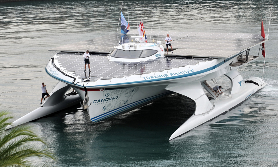 the planet solar boat