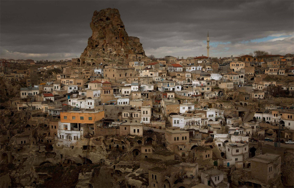 town of cappadocia, turkeyturkey town