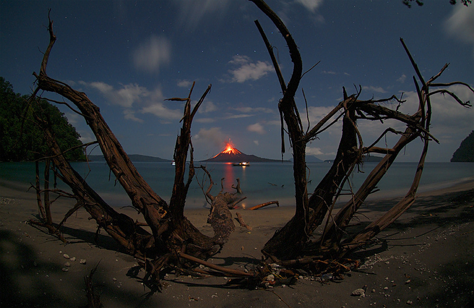 anak krakatau volcano eruption