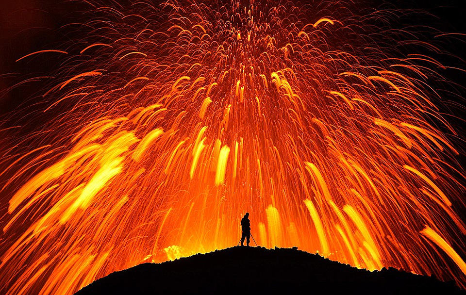 dancing with the lava