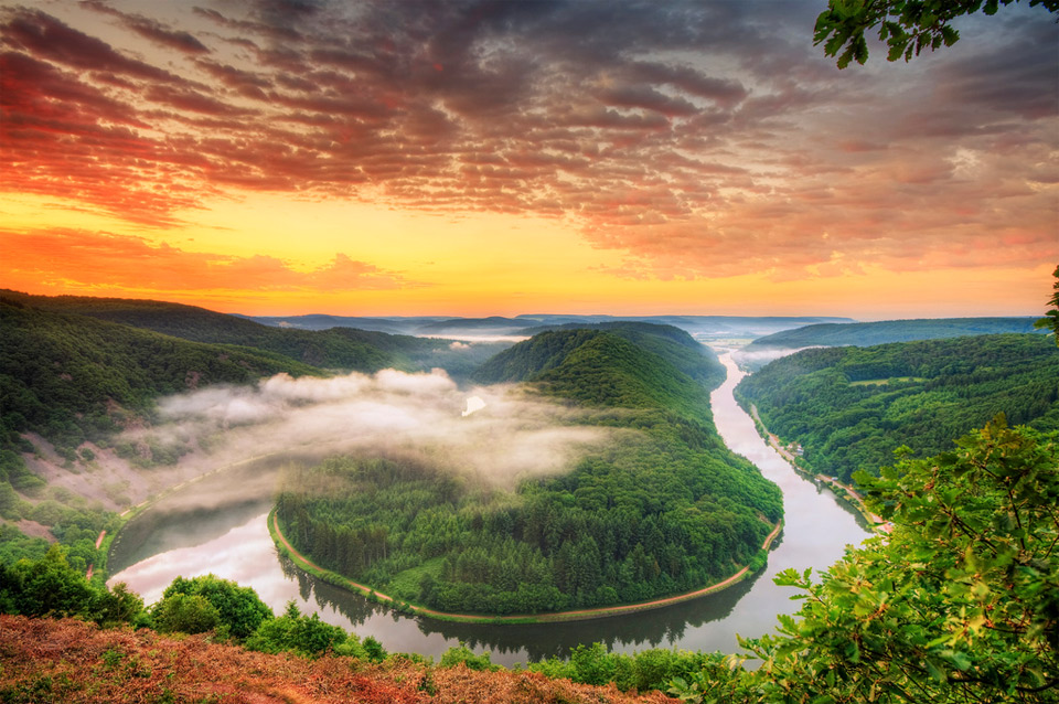 river saar, germany