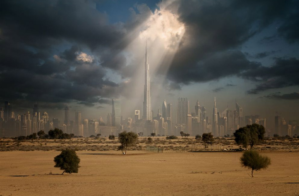 sunshine over dubai