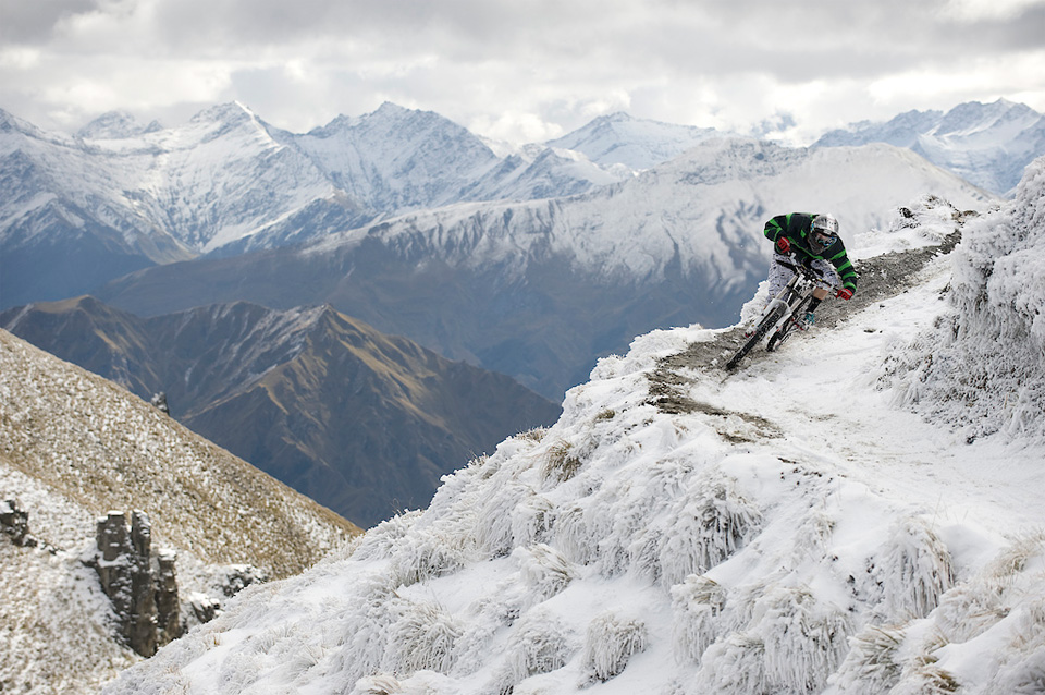 extreme biking in new zealand