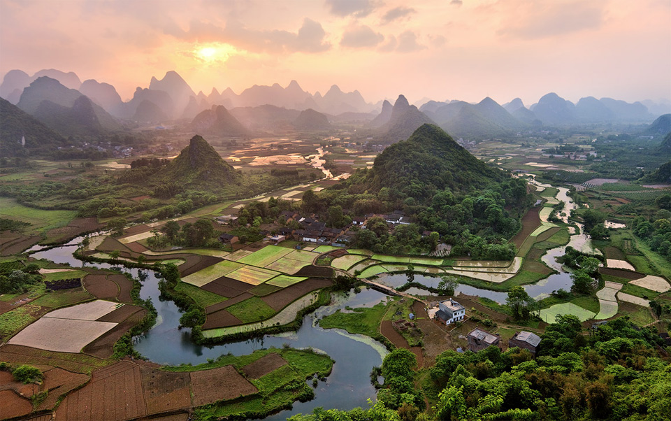fields of china