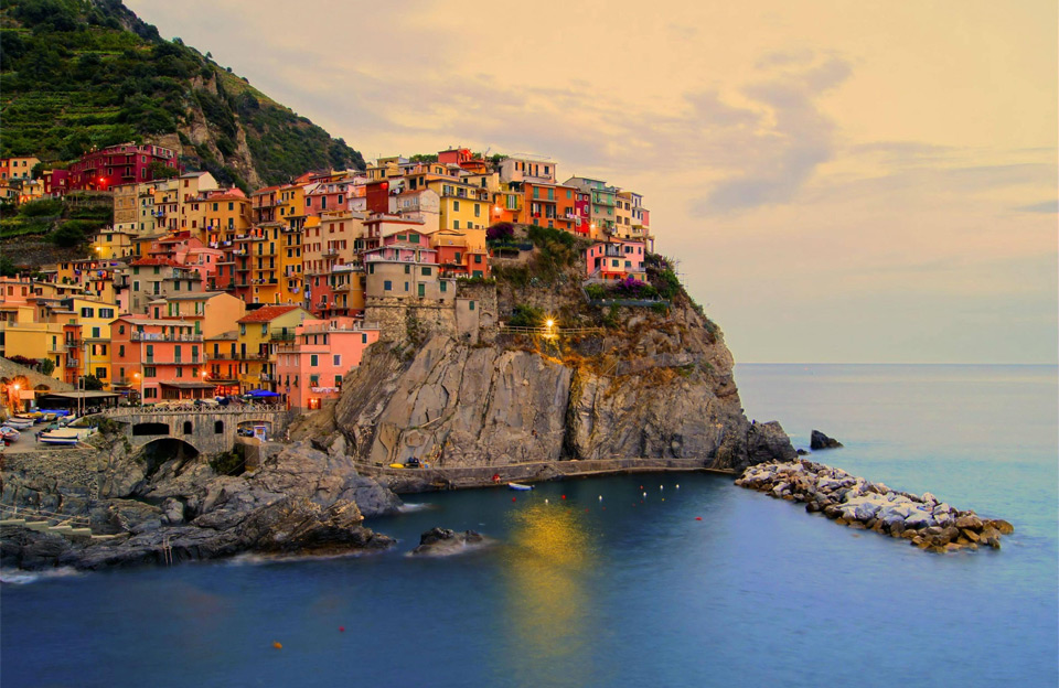village of manarola, italy