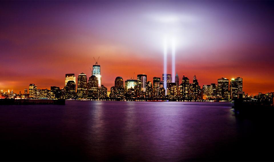 new york city in light