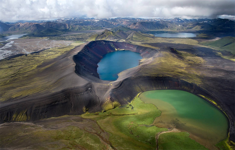 volcanic landscape in iceland