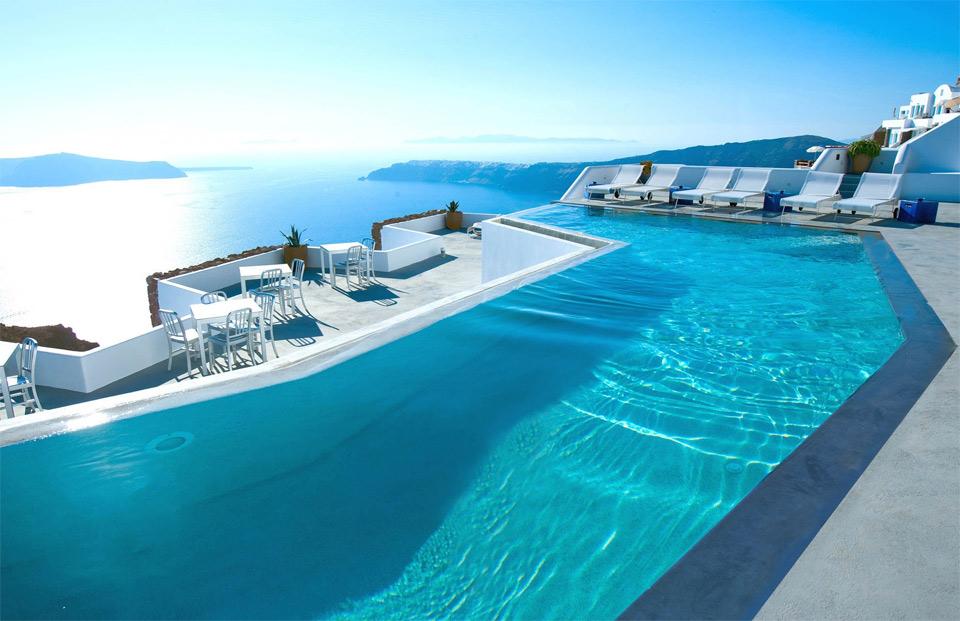 Hotel In Santorini Greece Photo One Big Photo