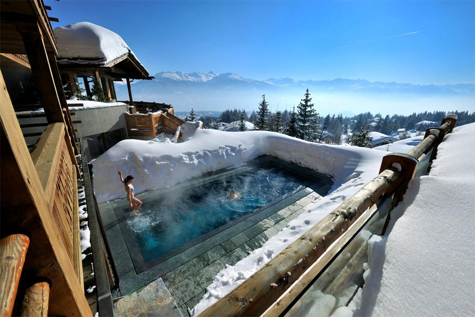 hot pool at cold alps photo
