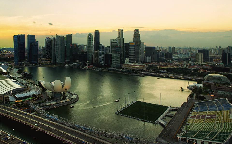 singapore floating stadium