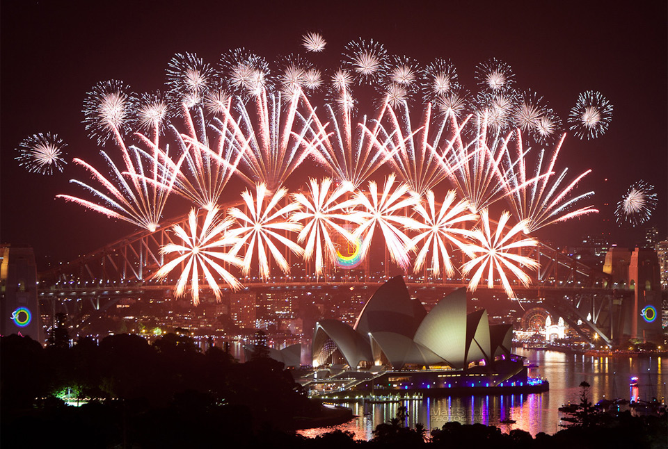 happy new year from sydney australia