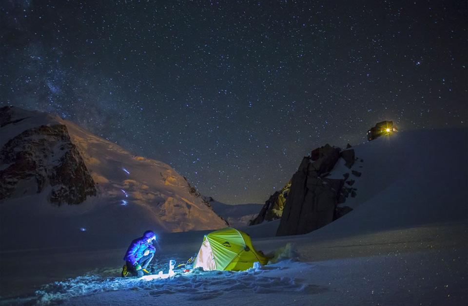 alpinist place to sleep