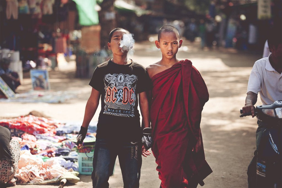 culturally different brothers in thailand