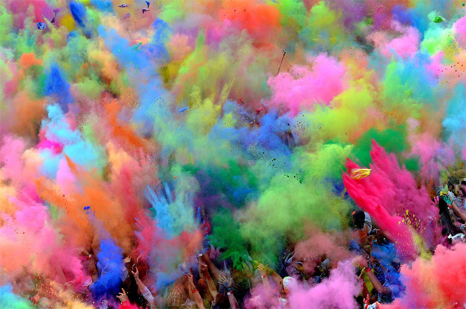 festival of colors, berlin photo | One Big Photo