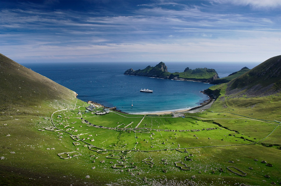 beautiful st. kilda, scotland