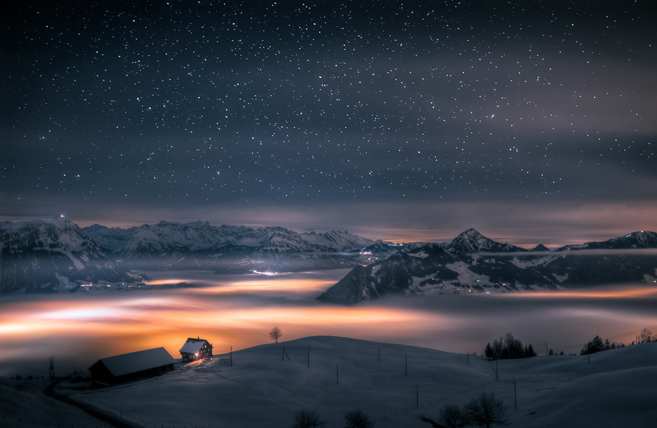 house above the clouds