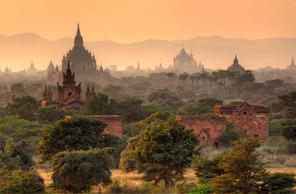 bagan city, myanmar photo