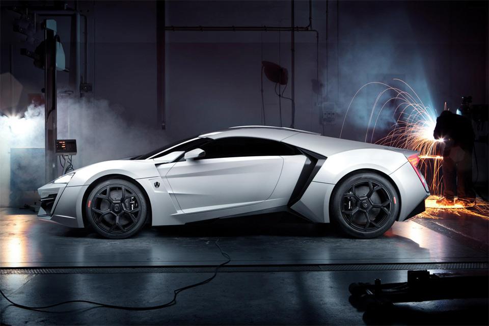 $3.4 million worth w motors lykan hypersport