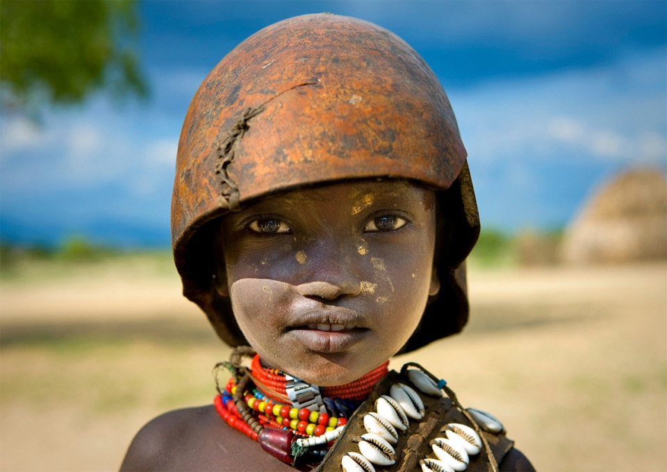 a boy from south ethiopia
