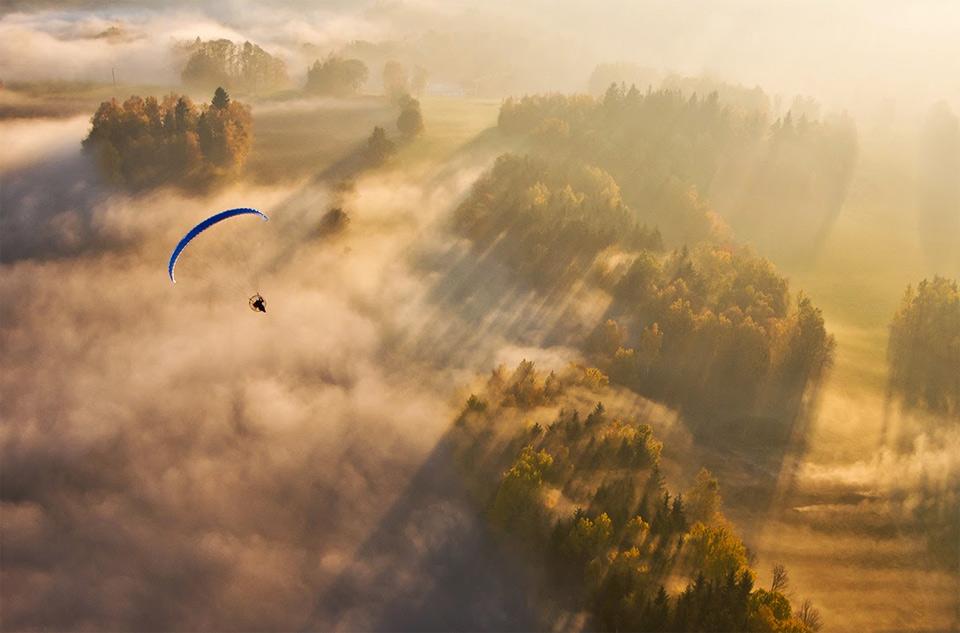 paragliding in czech republic