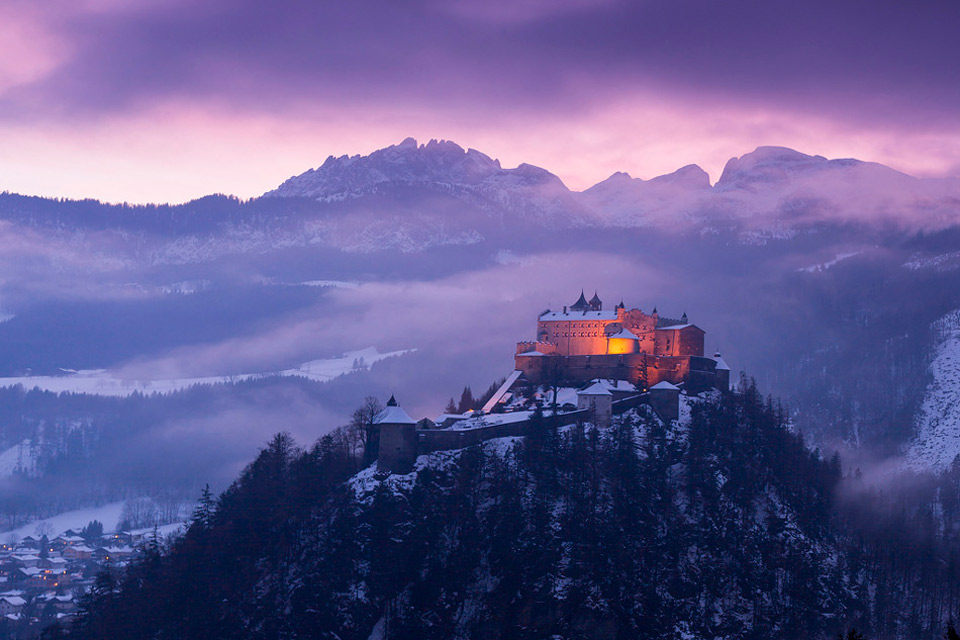 Image result for Mountain scenery in Werfen, Austria